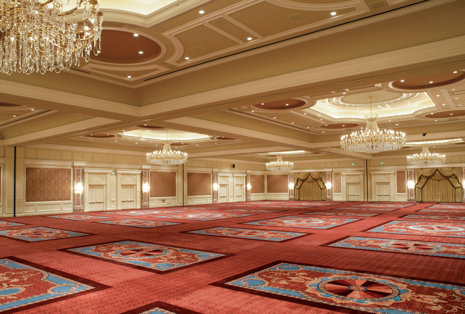 Grand Ballroom conference space for meetings and events on the first floor of The Grand America Hotel