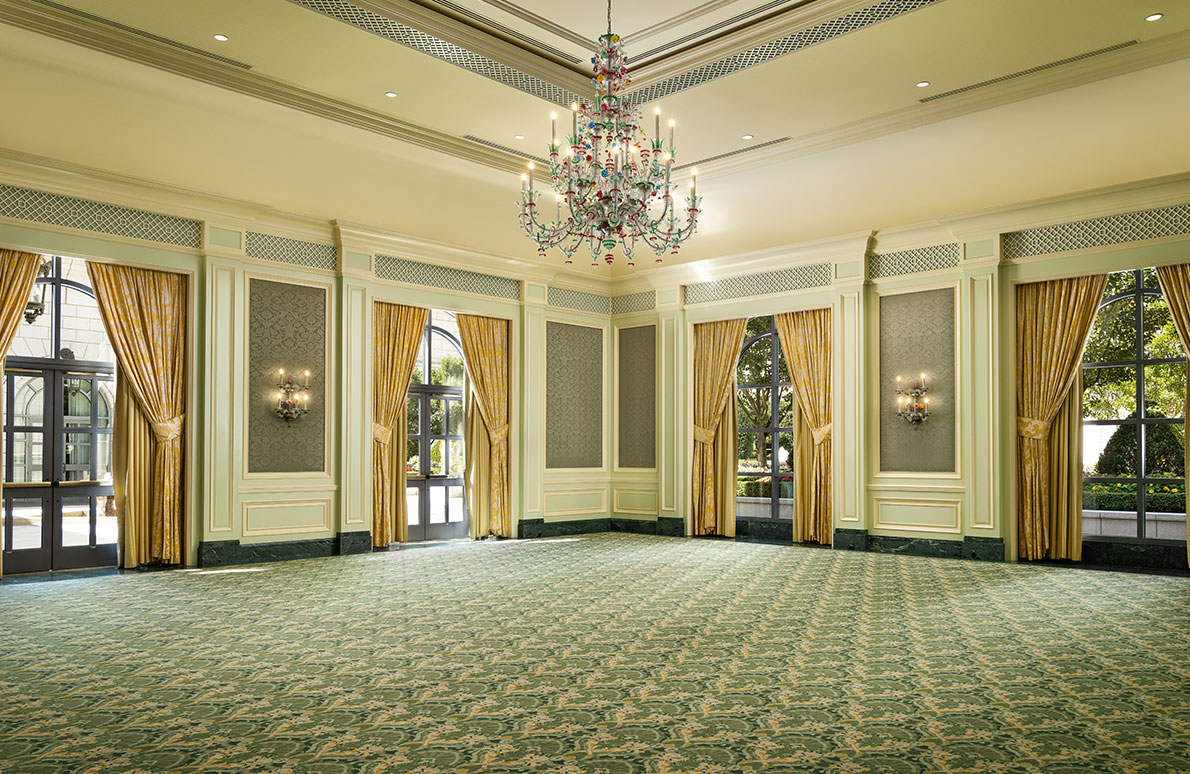 Murano meeting space on the first floor of The Grand America