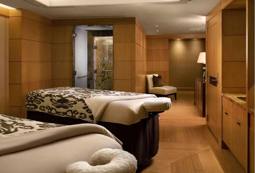 Couple's massage at the Grand Spa in Salt Lake
