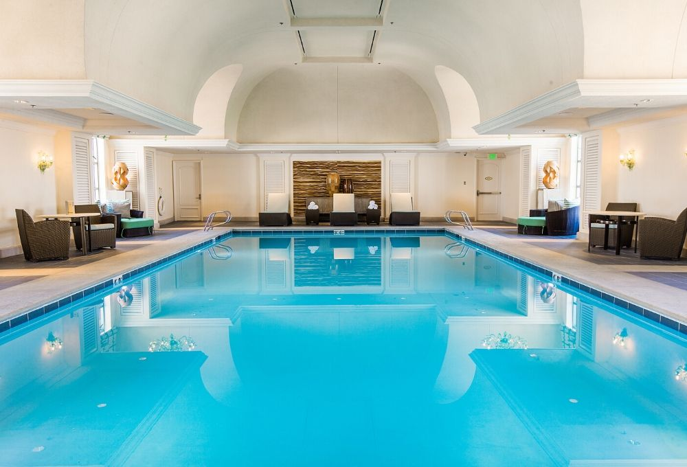 Indoor Pool at The Grand Spa in Salt Lake