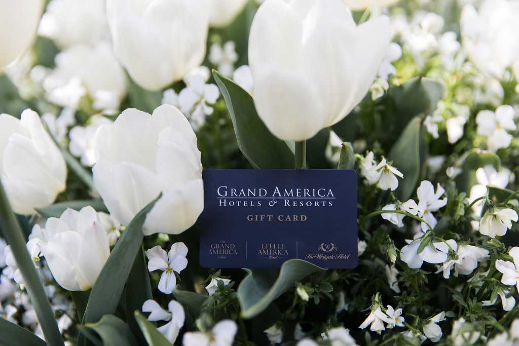 Grand America Hotel gift card in Salt Lake City
